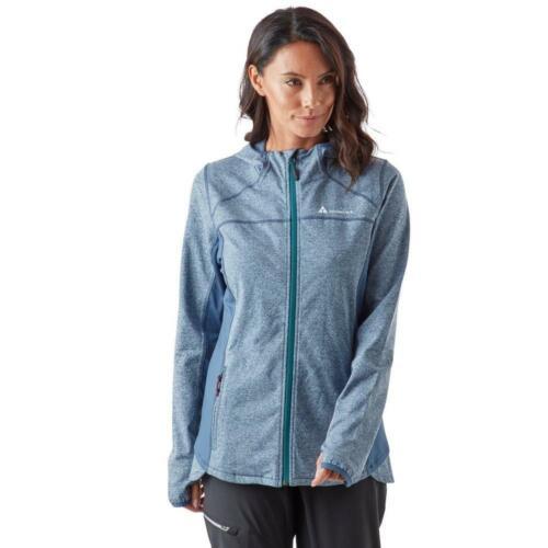 New Technicals Women's Full Zip Long Sleeve Pace Hooded Fleece