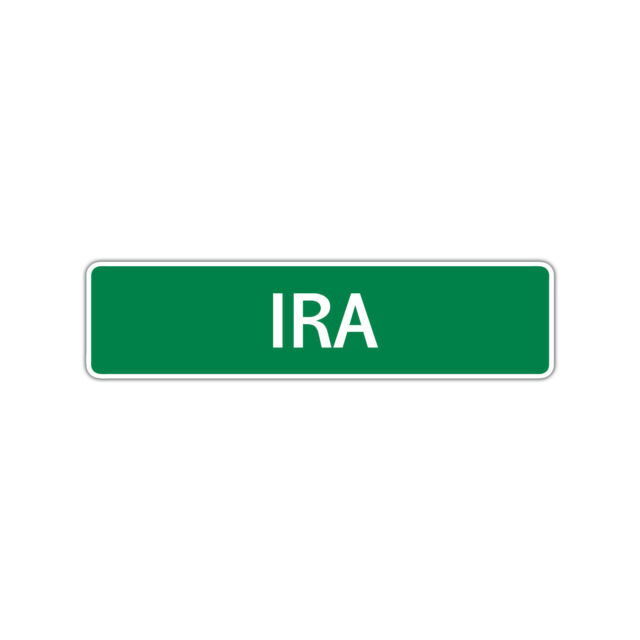 Ira Boys Name Letter Printed Label Wall Art Decor Novelty ...