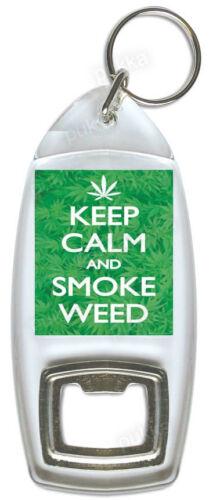 Bottle loky keyring Keep Calm and Smoke Weed
