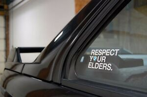Respect-Your-Elders-BMW-Decal-EURO-Sticker