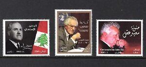 Inventif Liban-liban Neuf Sans Charnière-sc # 693, 696, 697