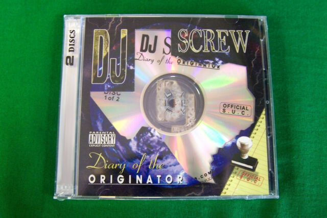 DJ Screw Chapter 13 Leanin on a Switch Texas Rap 2cd Piranha Records