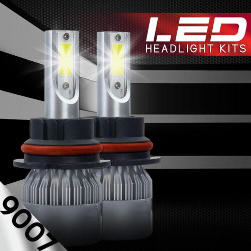 2 X CREE 9007 488W 48800LM COB LED HEADLIGHT BULBS HB5 6500K WHITE HI-LO BEAM
