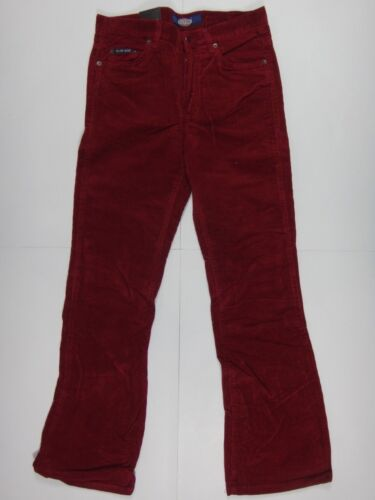 15827 Damen Hose Cord DeCON W30 L30 bordeaux; Knöpfe mJ/_