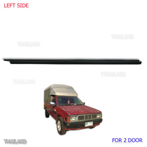 LH Outer Door Weather Window Rubber Seal Belt For Nissan Navara D21 86-05