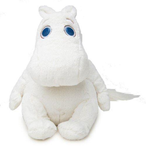 Official Moomintroll Toy MoominPlushDollSitting 30cm StuffedSekiguchi Japan A723