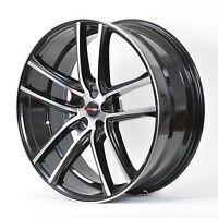 4 Gwg Wheels 20 Inch Black Machined Zero Rims 20x10 Fits Ford Ranger 2wd 2002-11
