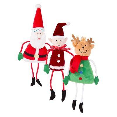Rennes Christmas Hanging Décoration Peluche Pendaison personnage Santa elf