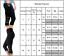 Womens 3//4 Capri YOGA Run Gym Sport Workout Pants Leggings Fitness Pocket Mesh