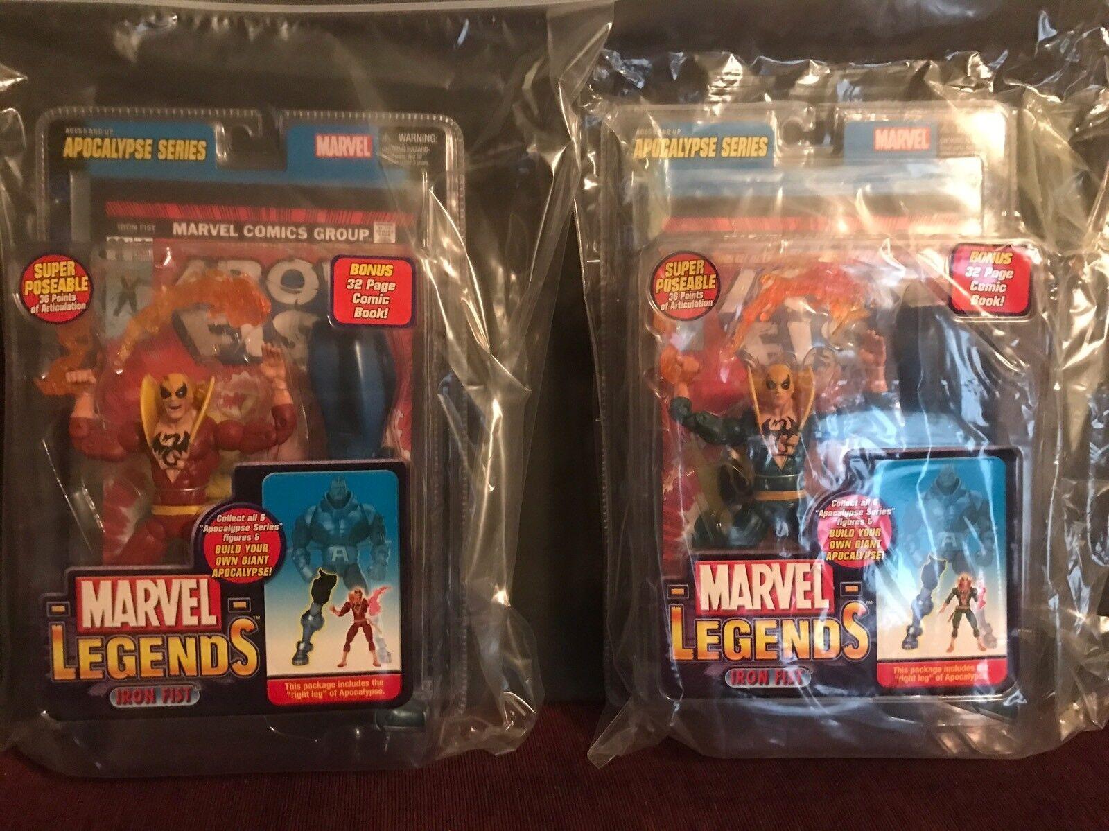 Marvel - legenden eiserne faust menge (2) variante der apokalypse