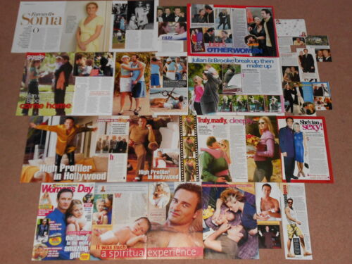 30+ JULIAN MCMAHON Magazine Clippings A