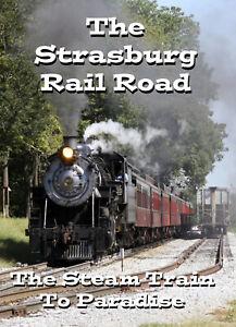 Railroad-DVD-Three-Decades-of-the-Strasburg-Rail-Road-Plus-611-039-s-2019-Visit