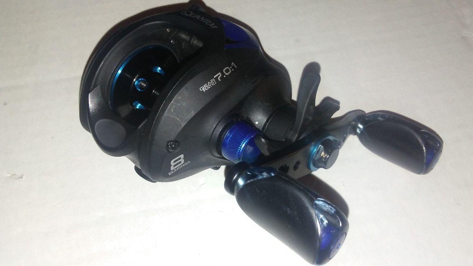 Quantum ESCALADE Blau Baitcast FISHING Reel    7.0:1  right handed  8-bearing d40d78