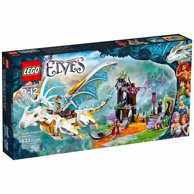 New Elves fairy Long After Rescue Compatible LEGO 41179 White Dragon 841Pcs Toys