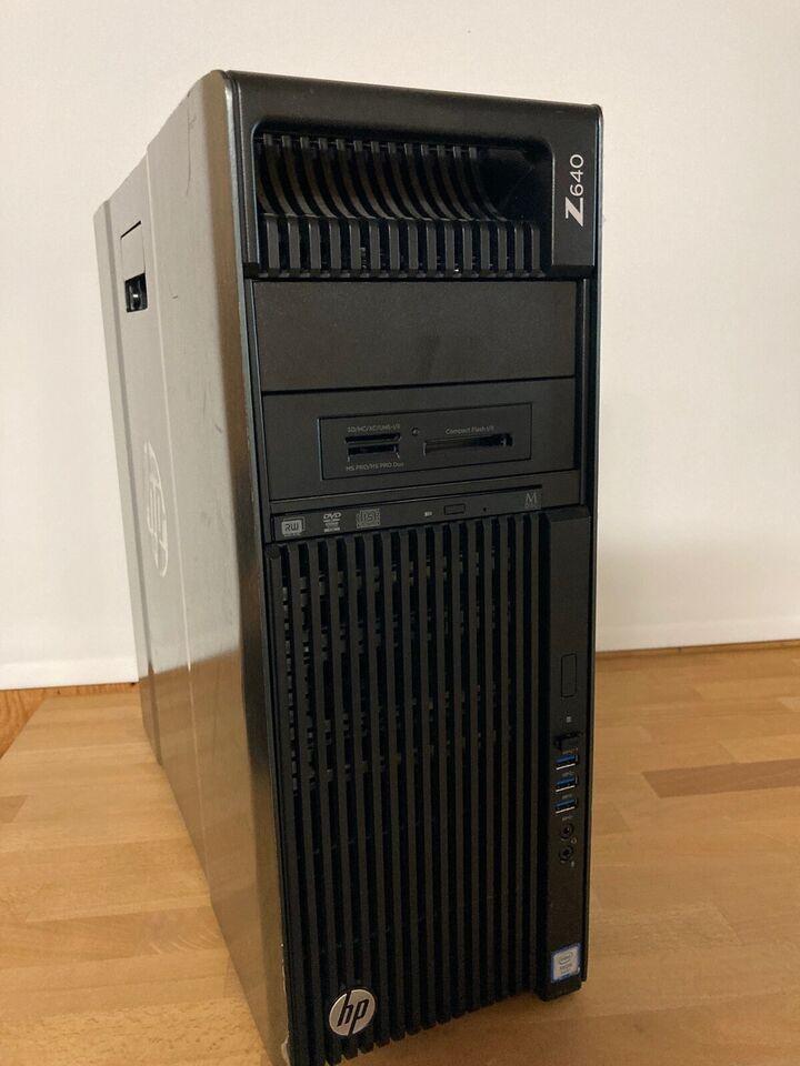 HP, Z640, 2.2 (3.1) GHz Ghz