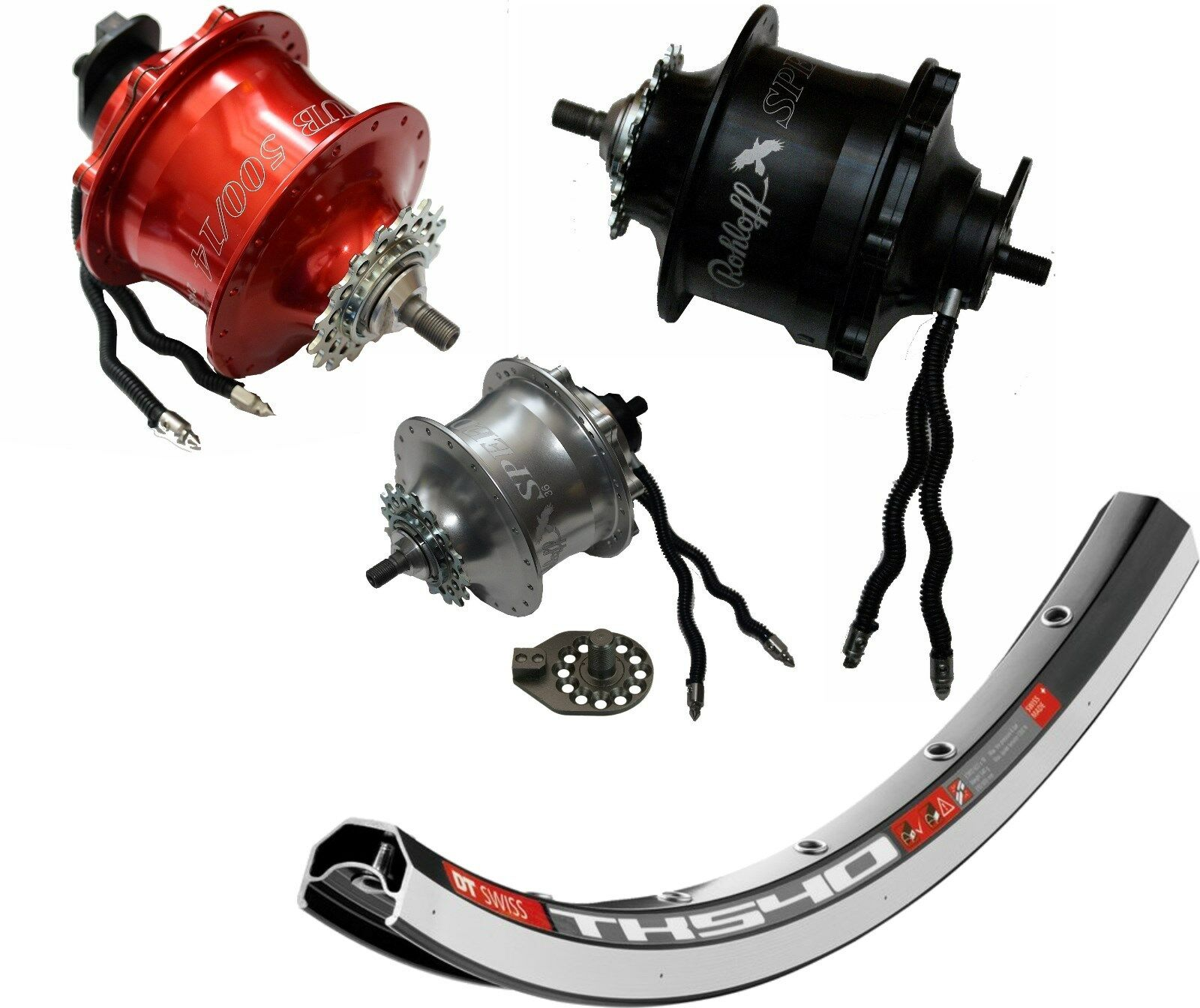 Rueda Rohloff Speedhub  Modelo 8045 8046 8047 Ts Oem Diversos Tamaños 20-28   incentive promotionals