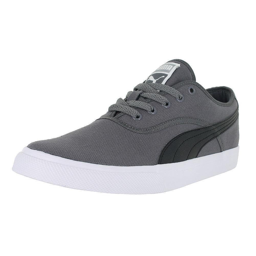 PUMA El Loch Gray Black Limestone Men/'s Casual Sneakers 358200-04