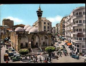 BEYROUTH-LIBAN-JEEP-a-la-MOSQUEE-HOTEL-amp-RESIDENCES-Rue-MAARAD-animee