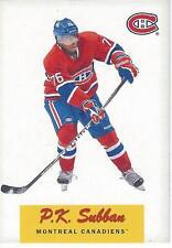 2012-13 OPC O-Pee-Chee Retro P.K. SUBBAN #71 Montreal Canadiens