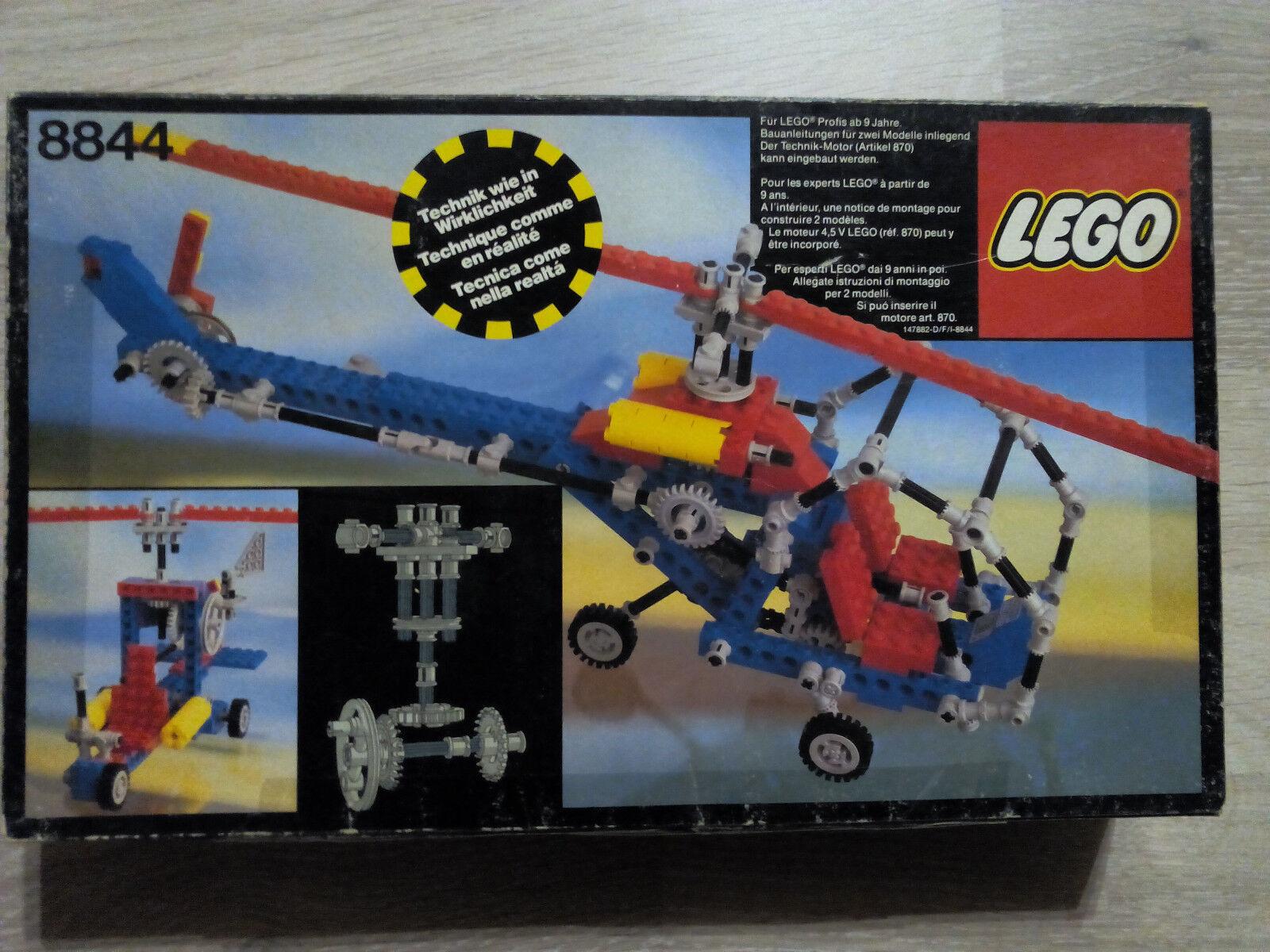 Lego Technic Technik 8844 Helicopter   GUTER ZUSTAND - RARITÄT