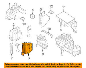 porsche oem 15 16 macan electrical fuse relay box left 8k0971845 rh ebay com