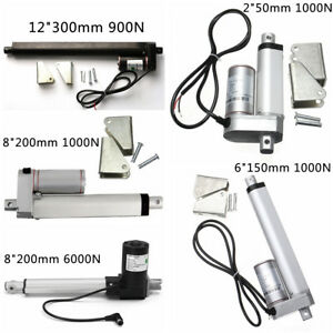 2-034-6-034-8-034-12-034-6000N-Heavy-Duty-12V-Stroke-Electric-Linear-Actuator-Putter-Motor