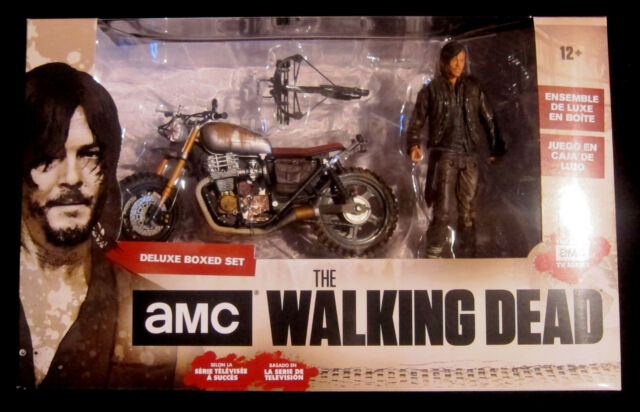 THE WALKING DEAD Daryl Dixon + Custom Bike - McFarlane Toys