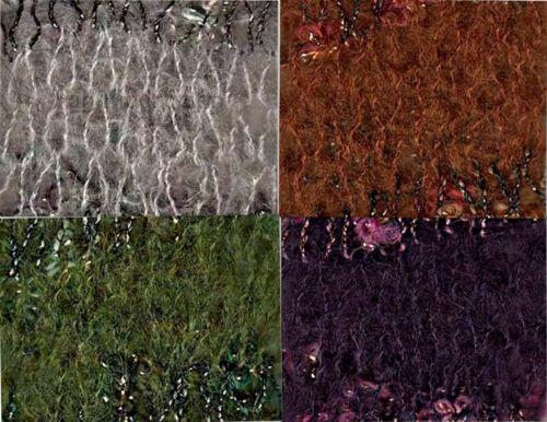 Mondial Malizia 100g Merino Mohair Blend Ruffle Yarn Loom Knit Crochet FS