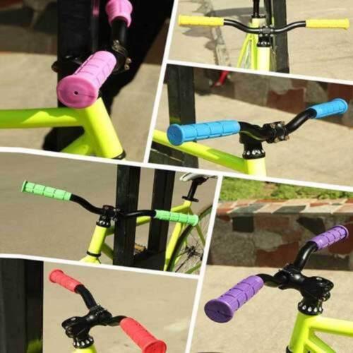 Soft BMX MTB Cycle Mountain Bicycle Bike Handle bar Rubber End Grip