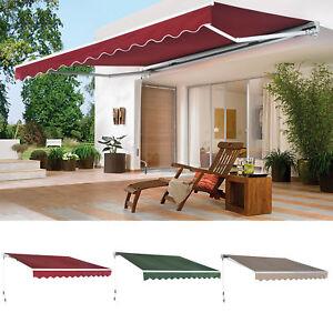 Image Is Loading Patio Awning Canopy Retractable Deck Door Outdoor Sun