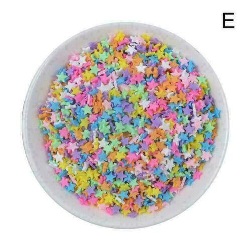 100g Box Clay Sprinkles For Filler For Slime DIY Sale Fake Candy Decor D8P9