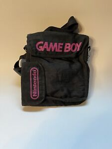 Official GAMEBOY Carrying Case, Nintendo, Travel Bag, black, Vintage