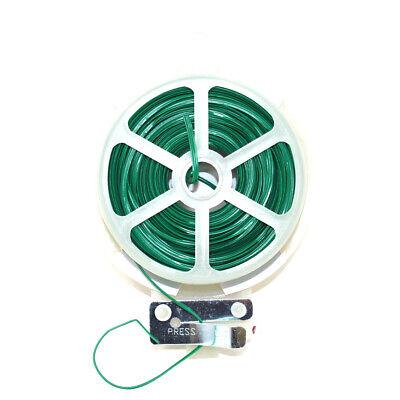 50 Metri Impianto Twist Tie Dispenser Con Taglierina Giardino Twist Legami Sicuro Piante-