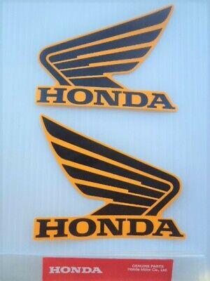 GENUINE HONDA MSX125 SHROUD FAIRING STICKER DECAL BLACK /& ORANGE **UK STOCK**