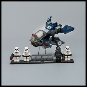 Acrylique-Presentoir-pour-Lego-Star-Wars-Imperial-Dropship-20th-Anniversaire