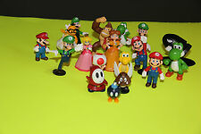 Super Mario Bros Collectible Figures (Figurines) Set of 18 Pieces