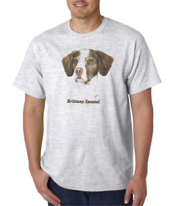 Nature Pets Animals T-shirt Dog Doggy Puppy Puppies Brittany Spaniel