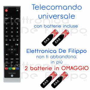 telecomando telefunken universale  TELECOMANDO UNIVERSALE COMPATIBILE AUDIOLA - AMSTRAD - FAIRMATE ...