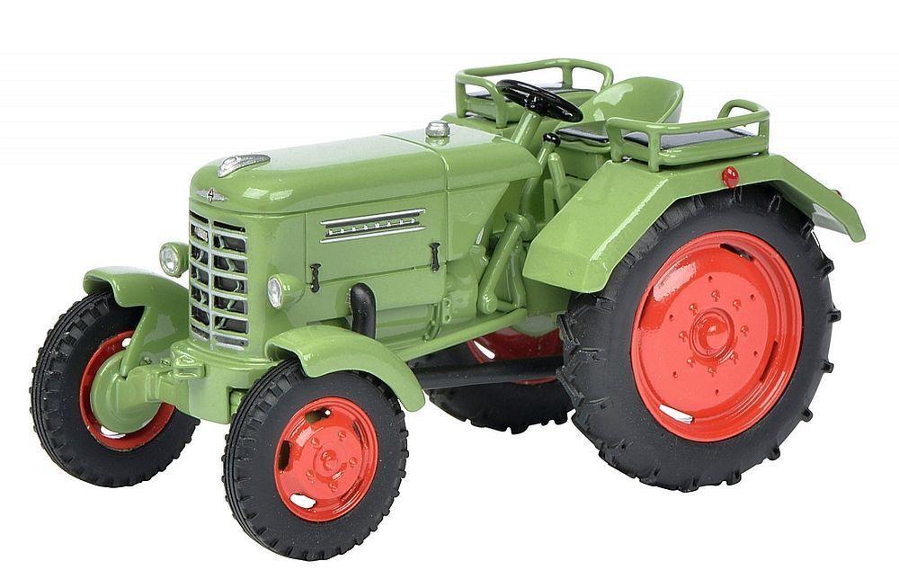 Schuco 1 43 Resine  08946 Borgward Traktor, grün grün grün 2ab4c1