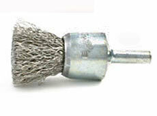 "SOLID END BRUSHES 1"" .006"