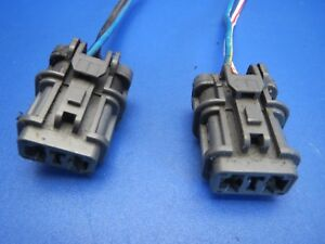 RADIATOR FAN MOTOR A//C AC CONDENSER WIRE PLUG CONNECTOR PIGTAIL HARNESS END CLIP