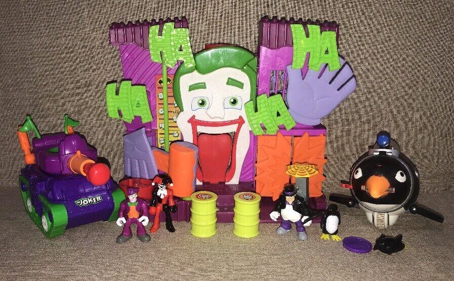 Lot Of Imaginext Joker Joker Joker Funhouse Penguin 9b2dd4