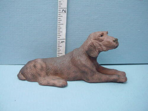 Miniature Pointer Dog #A841  Falcon 1//12th Scale Made of Resin