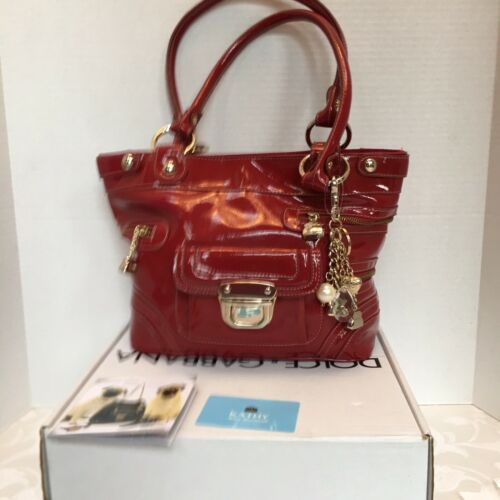 Authentic Coach Kathy Red Patent Leather beautiful