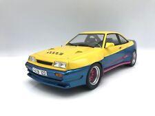 Opel Manta B Mattig 1991  gelb/blau 1:18 MCG 18095    >>NEW<<