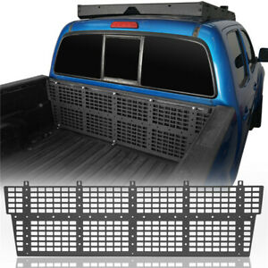 Front Bed Molle System Trunk Panel Textured Steel For Toyota Tacoma 05-15 4&2dr