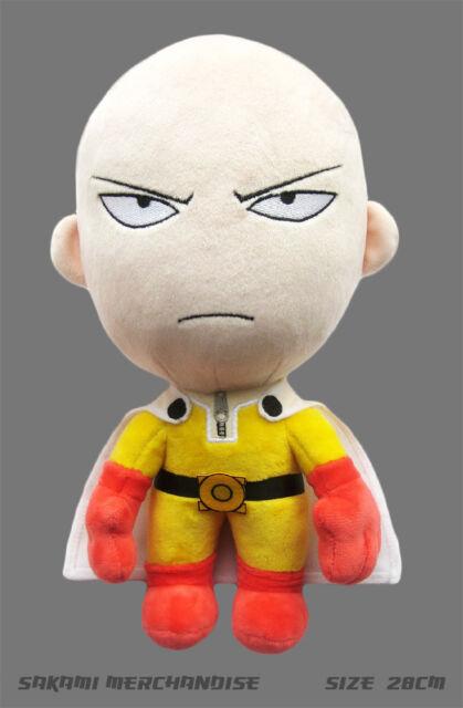 One Punch Man Plüsch Plüschi Figur (28cm) angry Saitama  original & lizensiert