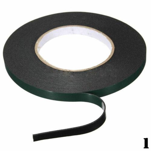 Kfz W5B0 Doppelseitiges Klebeband Schaum Montageklebeband Rolle Auto 5M 10mm //