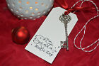 Santa's MAGIC KEY - Father Christmas Eve Tradition - Novelty Gift - No Chimney