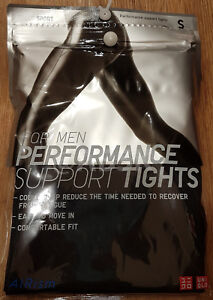 a056ec4e28779 Image is loading UNIQLO-Sports-MEN-AIRism-Performance-Support-Long-Tights-